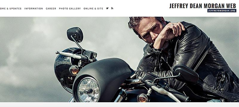 Welcome to Jeffrey Dean Morgan Web!