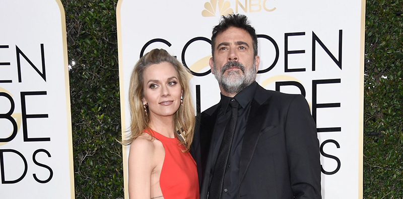 Jeffrey at the 74th Annual Golden Globe Awards