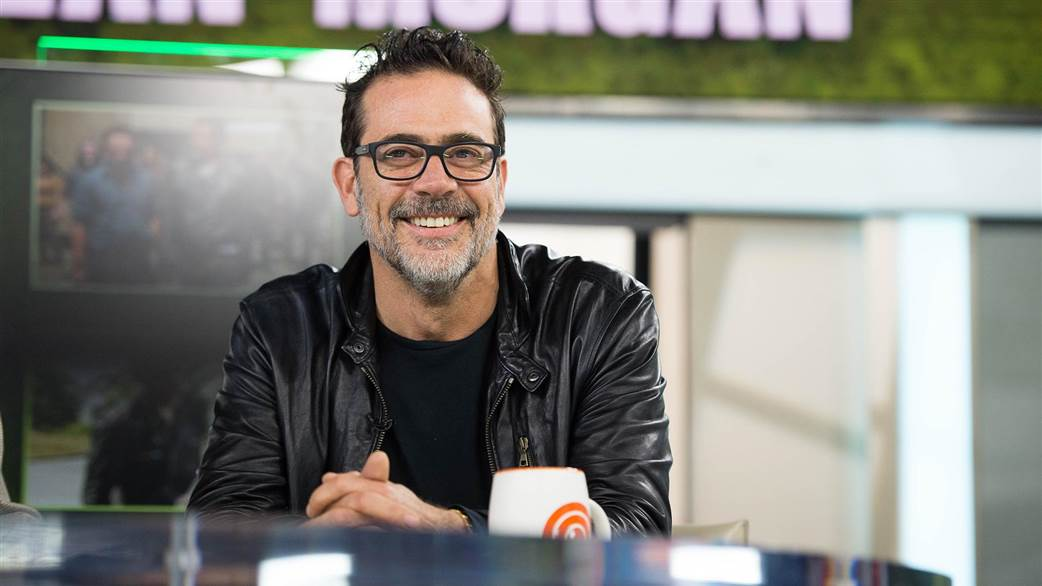 "Jeffrey Talks ""The Walking Dead"" on Today Show"